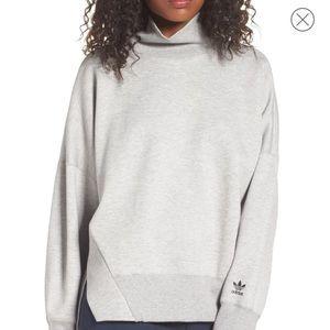 NWT Adidas funnel neck sweatshirt
